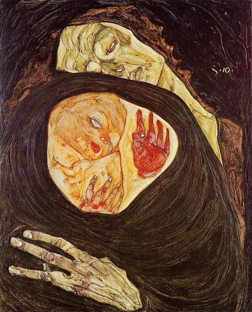 #Resim |  Egon Schiele - Dead Mother